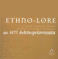 Ethno-Lore - Az MTA BTK Néprajztudományi Intézet Évkönyvei